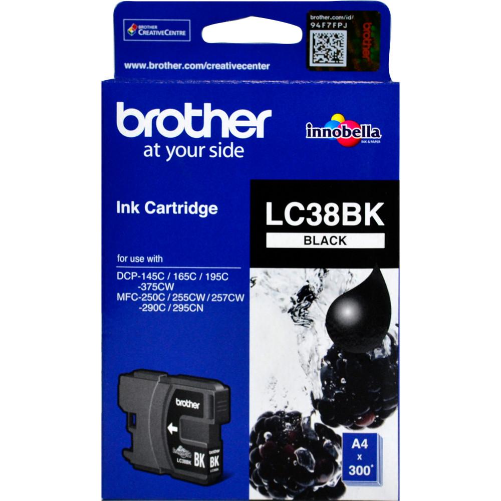 Brother LC-38BK Ink Cartridge Black