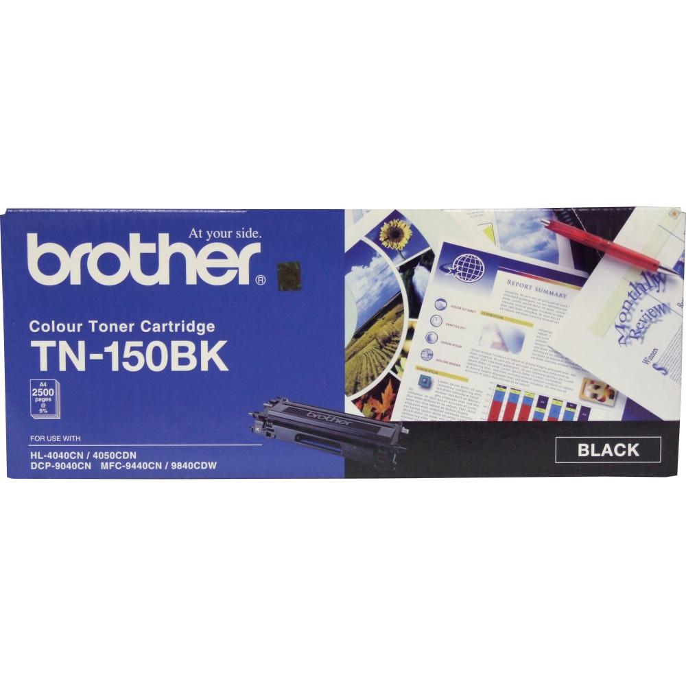 BROTHER TN150BK TONER CART Laser - Black