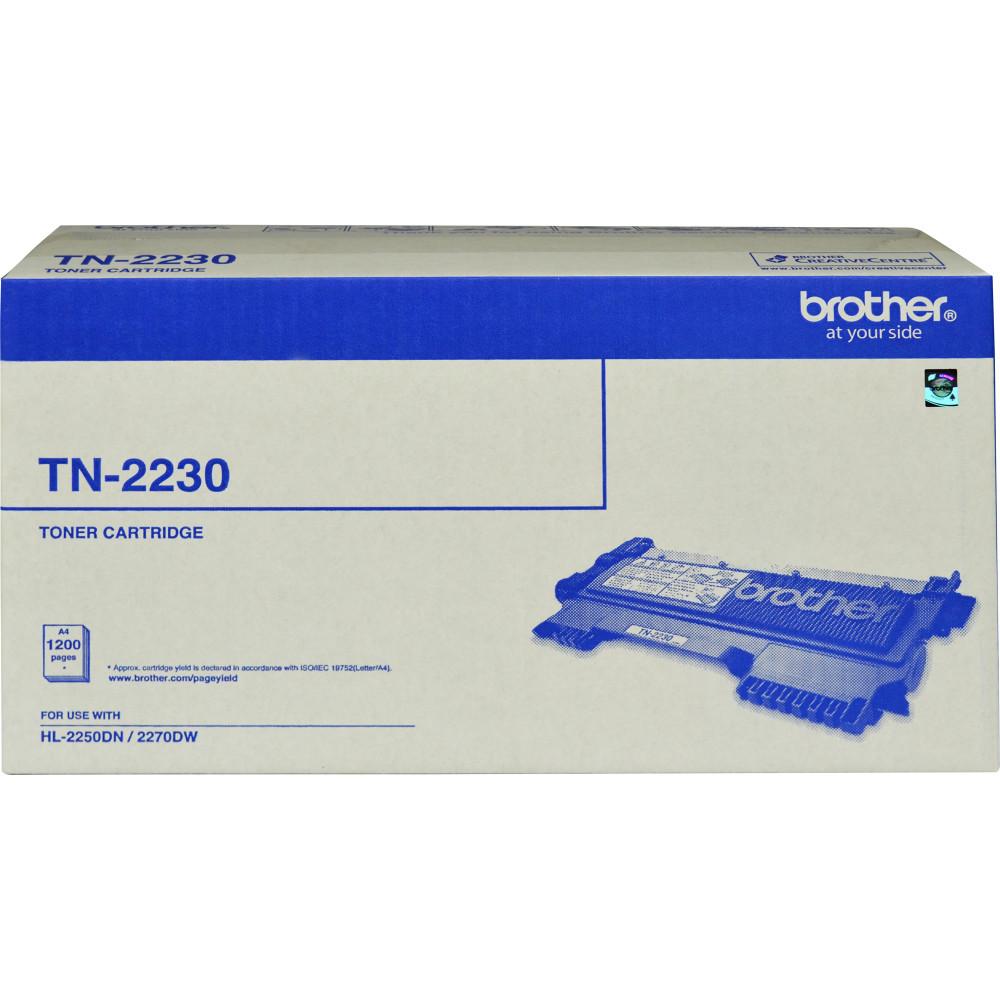 BROTHER TN2230 TONER CARTRIDGE Laser Hi Yield- Black