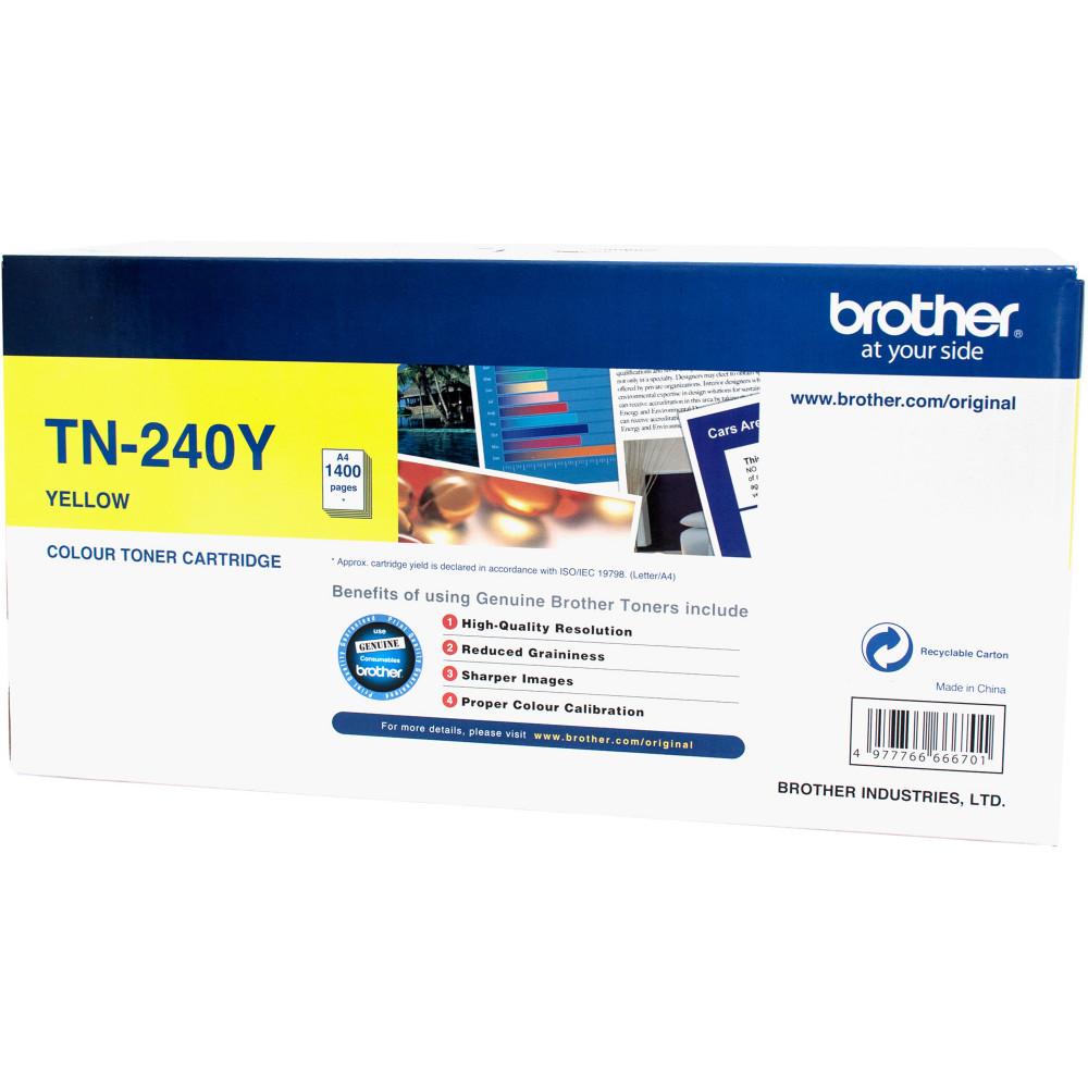 BROTHER TN240Y TONER CART Laser - Yellow