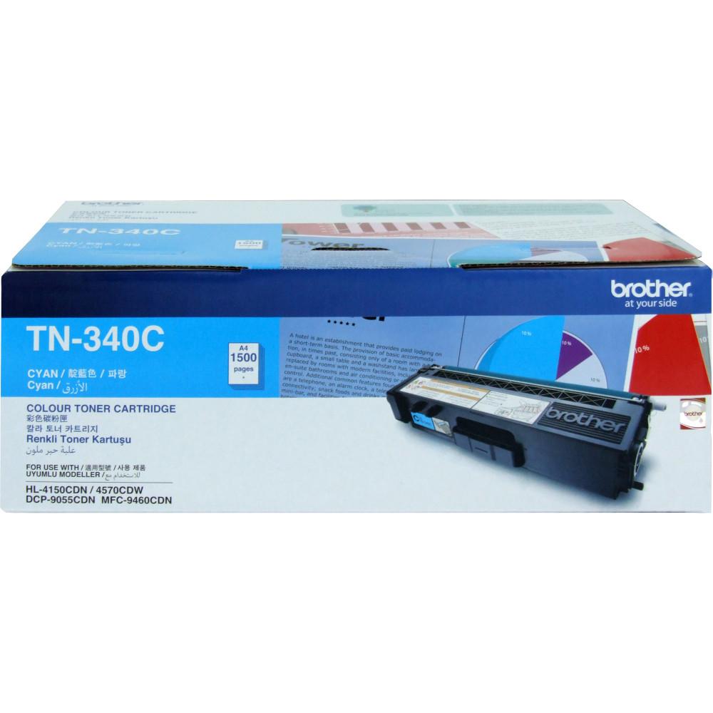 Brother TN-340C Toner Cartridge Cyan