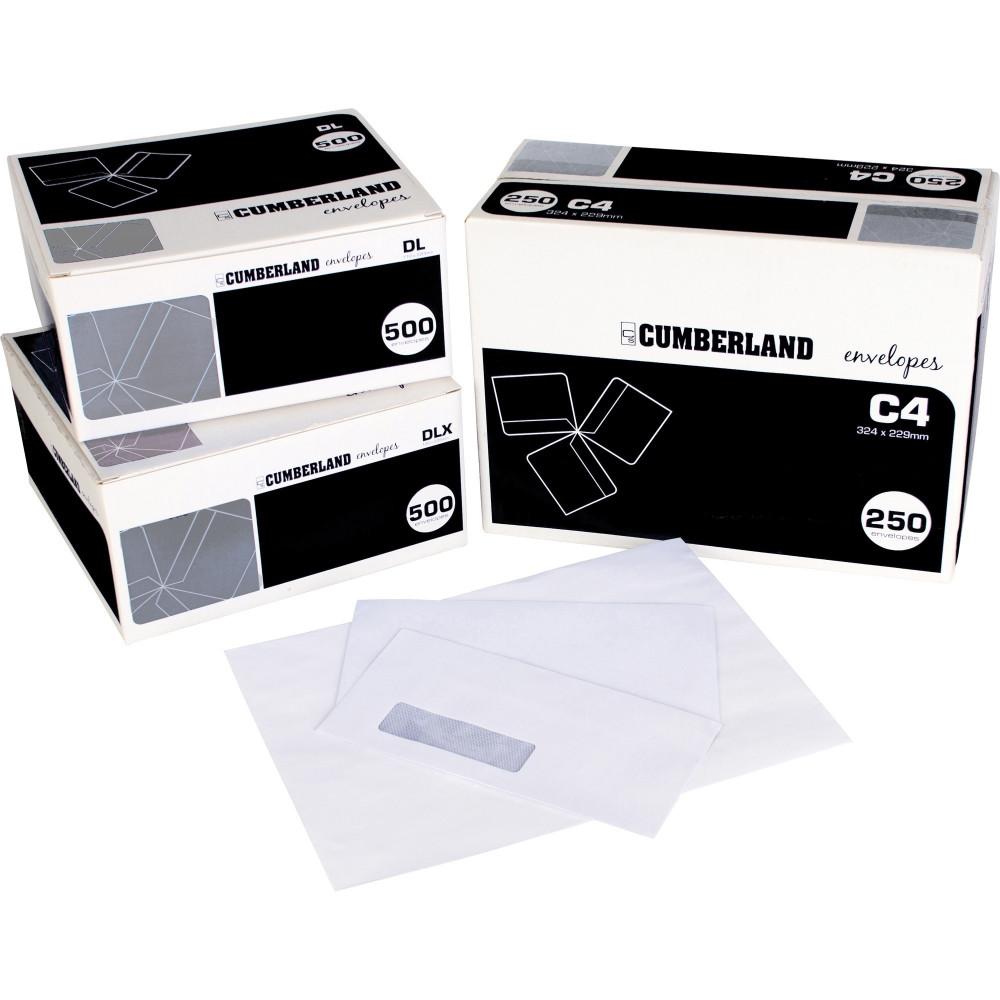 CUMBERLAND PLAIN ENVELOPE DL 110x220 StripSeal 90g Laser