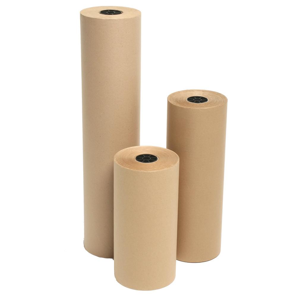 MARBIG ENVIRO KRAFT PAPER Roll Recycled 65gsm 750mmx340m
