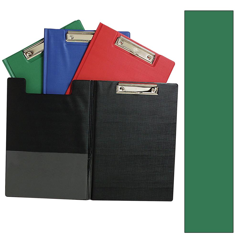 MARBIG PVC CLIPFOLDERS A4 Green