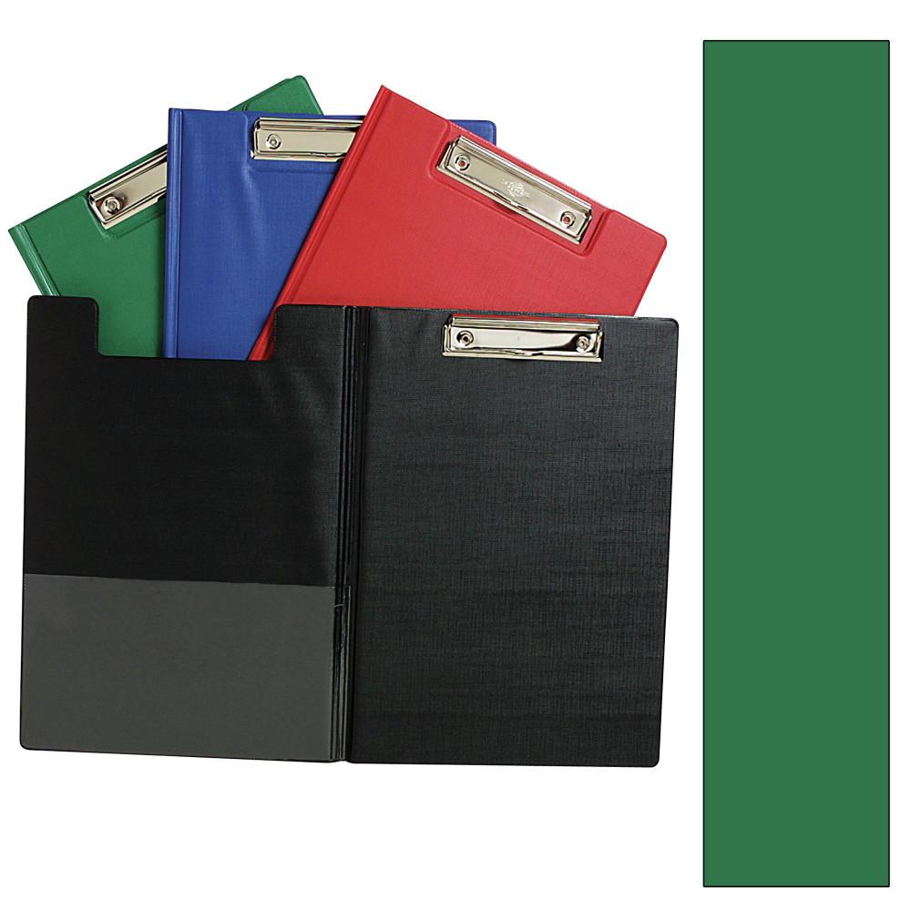 MARBIG PVC CLIPFOLDERS Foolscap Green