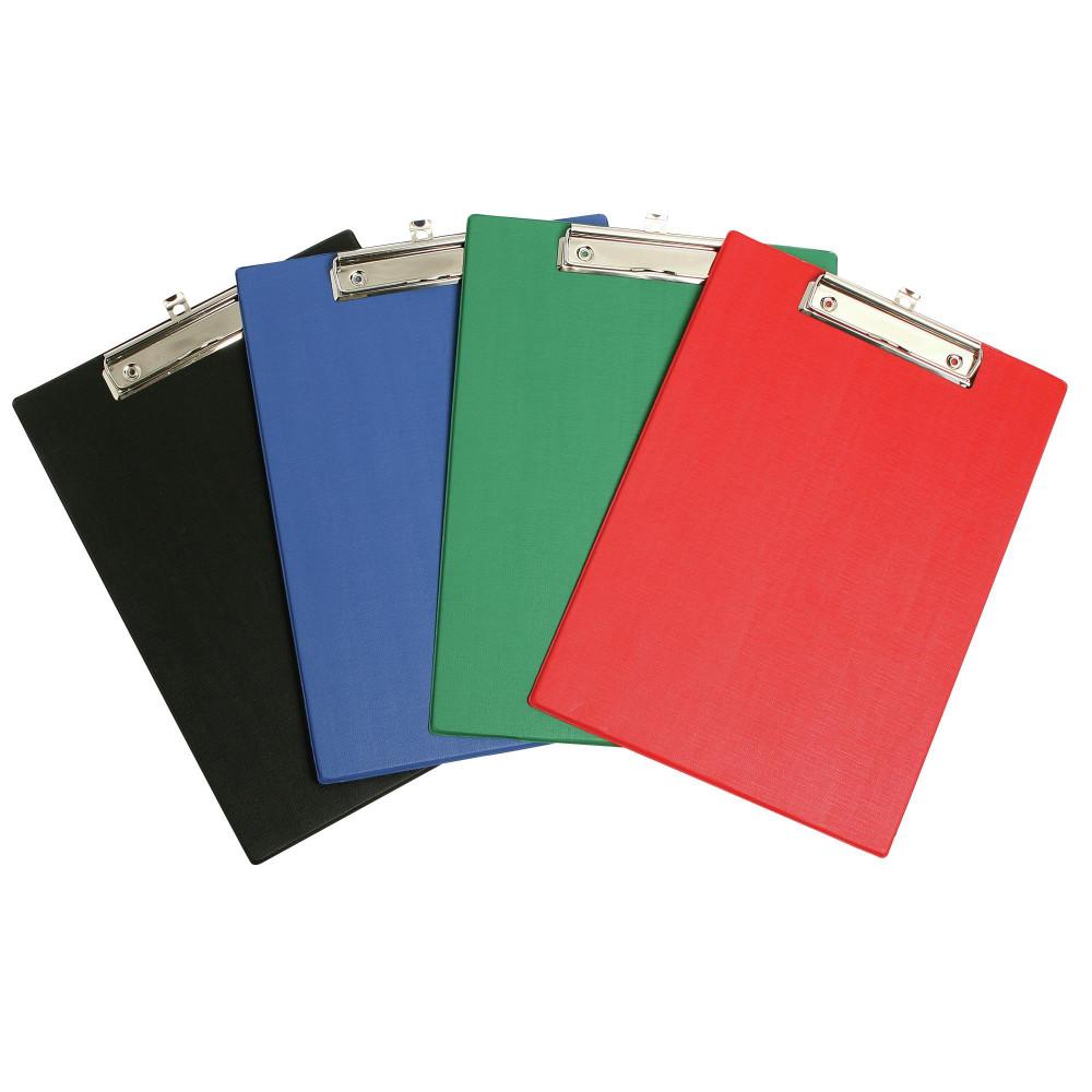 MARBIG PVC CLIPBOARDS Foolscap Blue