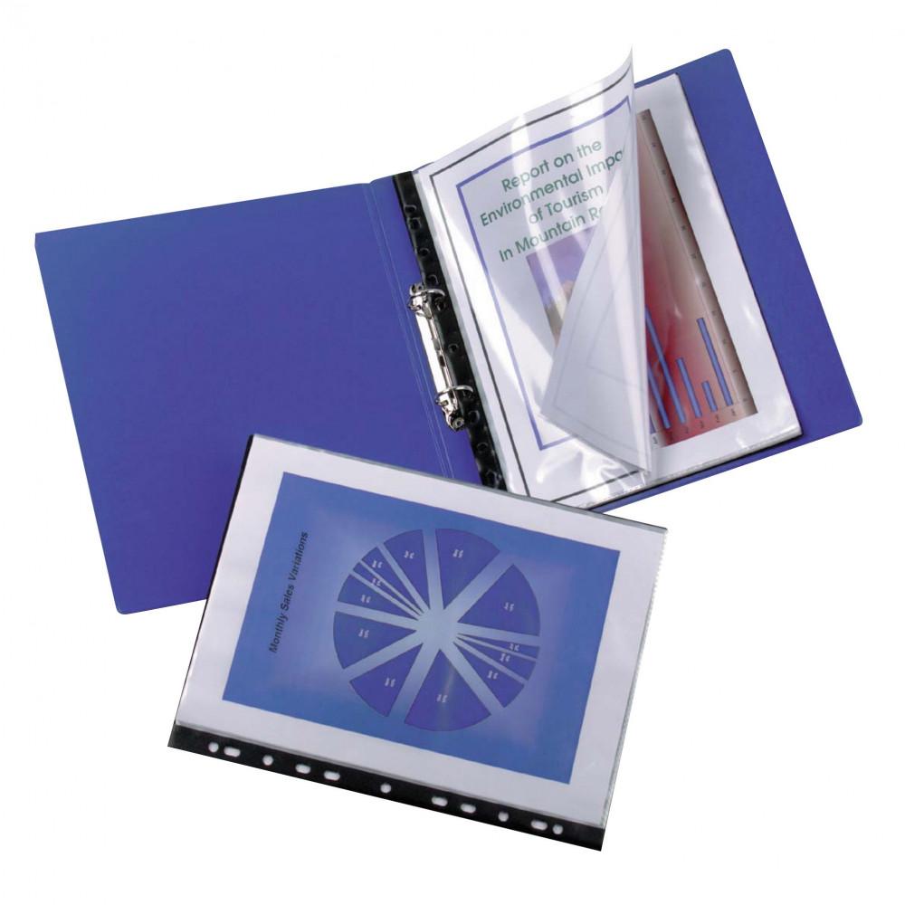 MARBIG BINDERMATE DISPLAY BOOK A4 20 Pocket Clear