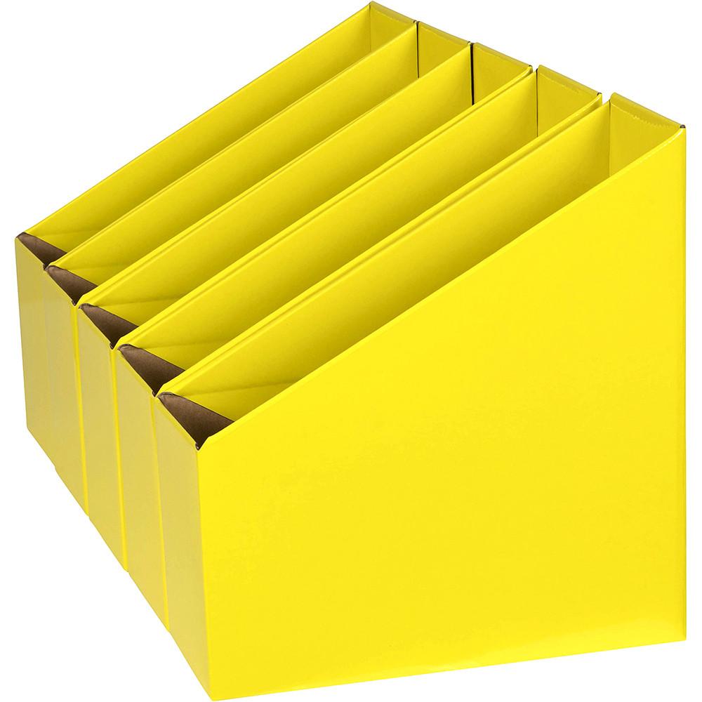 MARBIG BOOK BOX Small Pk5 Yellow