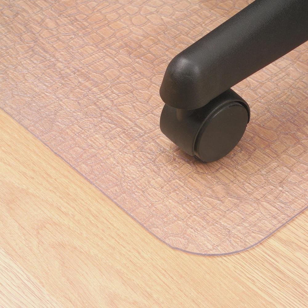 Marbig Hard Floor Chairmat Large 114x134cm Clear