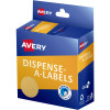 Avery Dispenser Label 24mm Kraft Brown Pack of 300