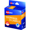 Avery Dispenser Label 24mm Sale Price Red Pack of 300