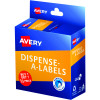 Avery Dispenser Label 24mm Buy 1 Get 1 1/2 Red Pack of 300