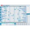 SASCO YEAR PLANNER Dated 875x610mm