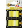 MARBIG FLAGS COLOURED TIP Yellow