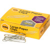 MARBIG PAPER CLIPS Large 33mm Chrome