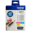 BROTHER LC3317 INKJET CART Colour Value Pack
