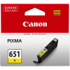 CANON INKJET CLI651 CARTRIDGE Yellow iP7260 MG6360 MG5460
