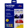 BROTHER LC38CL3PK INK CART Inkjet 3Pack Value - Colour