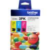 BROTHER LC40 COLOUR VALUE PACK Cyan, Magenta, Yellow