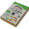 RAINBOW 80GSM OFFICE PAPER A4 5x Bright Assorted Colours Ream of 500