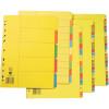 Marbig Manilla Divider A4 10 Tab Bright Colours