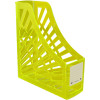 ITALPLAST NEON MAGAZINE HOLDER Neon Yellow