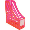 ITALPLAST NEON MAGAZINE HOLDER Neon Red