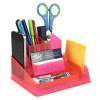 ITALPLAST DESK ORGANISER Neon Red