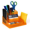 ITALPLAST DESK ORGANISER Neon Orange