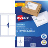 AVERY L7169 MAILING LABELS Laser 4/Sht 99.1x139mm