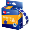 Avery Removable Dispenser Labels 14mm Round Blue Pack of 1050