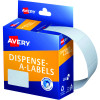 Avery Removable Dispenser Labels 24x32mm Rectangle White Pack of 420