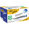 BIC WHITEBOARD 1751 ECO MARKER Blue, Chisel Tip Pack of 12