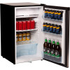NERO BAR FRIDGE & FREEZER 125 Litre  Stainless Steel