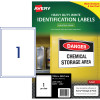 Avery 959096 Heavy Duty Industrial Labels White L7067