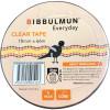 BIBBULMUN OFFICE STICKY TAPE 18mm X 66m Clear