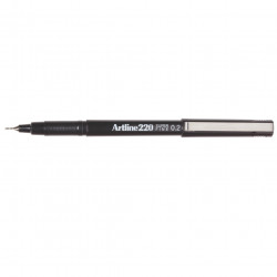 ARTLINE 220 FINELINER PENS 0.2mm Black