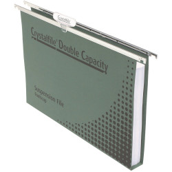 CRYSTALFILE SUSPENSION FILES Enviro Double Cap, with Tabs