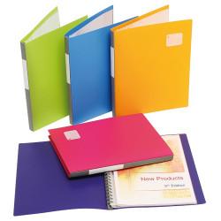 MARBIG REFILLABLE DISPLAY BOOK Pro Series A4, 20Pocket Assort