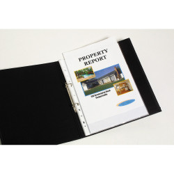 MARBIG COPYSAFE SHEET PROTECTOR Economy A4 Low Glare Bx100