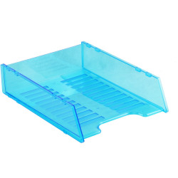 ITALPLAST NEON DOCUMENT TRAY Multifit - Neon Blue