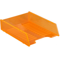 ITALPLAST NEON DOCUMENT TRAY Multifit - Neon Orange