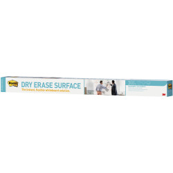 POST IT DRY ERASE SURFACE DEF6X4 1800x1200mm Whiteboard surface on a roll