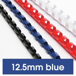 REXEL BINDING COMB 12mm 21Loop 95Sht Cap Blue