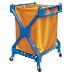 CLEANLINK TROLLEY Scissor Trolley Blue