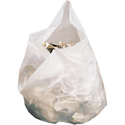 GARBAGE BAGS Medium 28Ltr 650X510mm White