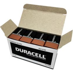DURACELL COPPERTOP BATTERY 9V Bulk Pack Box of 12