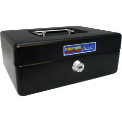 CONCORD CLASSIC CASH BOX No.8 200x150x80mm Black
