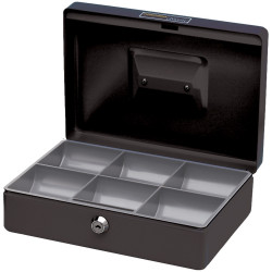 CONCORD CLASSIC CASH BOX No.10 250x180x80mm Black