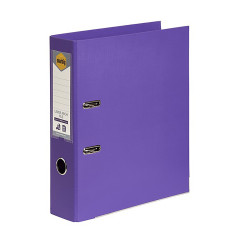 MARBIG PE LINEN LEVER ARCH A4 Purple